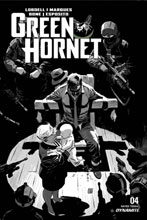 Image: Green Hornet Vol. 03 #4 (incentive 1:20 cover - Weeks B&W) - Dynamite