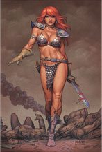 Image: Red Sonja #20 (variant cover - Linsner virgin) - Dynamite