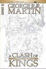 Image: George R.R. Martin's A Clash of Kings #8 (incentive 1:20 cover - Rubi B&W) - Dynamite
