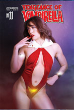 Image: Vengeance of Vampirella #11 (cover D - Lee Cosplay) - Dynamite