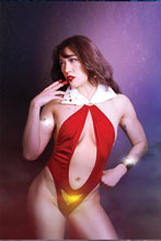 Image: Vengeance of Vampirella #11 (incentive 1:20 cover - Lee Cosplay virgin) - Dynamite