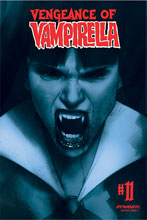 Image: Vengeance of Vampirella Vol. 02 #11 (incentive 1:40 cover - Oliver Tinted) - Dynamite