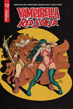 Image: Vampirella / Red Sonja #12 (incentive 1:07 cover - Robson Homage) - Dynamite