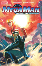 Image: Mega Man: Fully Charged #3 (cover A - Main) - Boom! Studios