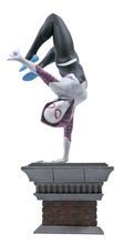 Image: Marvel Gallery PVC Statue: Spider-Gwen  (Handstand) - Diamond Select Toys LLC