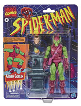 Image: Spider-Man Vintage Green Goblin  (6-inch) Action Figure Case - Hasbro Toy Group