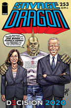 Image: Savage Dragon #253 (variant Biden Harris cover - Larson) - Image Comics