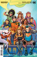 Image: Young Justice #19 (variant cover - Darko Lafuente) - DC-Wonder Comics