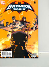Image: Batman and Robin #8 - DC Comics