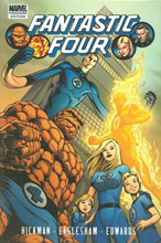 Image: Fantastic Four by Jonathan Hickman Vol. 01 HC  - Marvel Comics