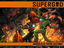 Image: Supergod #4 (3-copy Church variant incentive) - Avatar Press Inc
