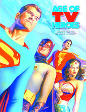 Image: Age of TV Heroes HC  - Twomorrows Publishing