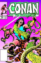 Image: Chronicles of Conan Vol. 21: Blood of the Titan and Other Stories SC  - Dark Horse
