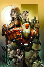 Image: Invincible Iron Man #500.1 - Marvel Comics