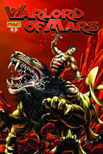 Image: Warlord of Mars #5 (10-copy Sadowski Red incentive cover) (v10) - D. E./Dynamite Entertainment