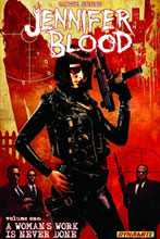 Image: Jennifer Blood Vol. 01: A Woman's Work is Never Done SC  - D. E./Dynamite Entertainment