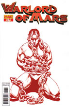Image: Warlord of Mars #17 (20-copy Sadowski Red incentive cover) (v20) - Dynamite