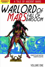 Image: Warlord of Mars: Fall of Barsoom Vol. 01 SC  - Dynamite