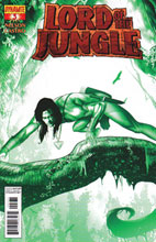 Image: Lord of the Jungle #3 (15-copy Renaud Jungle Green incentive cover) (v15) - Dynamite