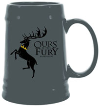 Image: Game of Thrones Ceramic Stein: Baratheon Sigil  - Dark Horse Comics