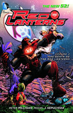 Image: Red Lanterns Vol. 02: Death of the Red Lanterns SC  (N52) - DC Comics