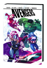 Image: Avengers: Season One HC  - Marvel Comics