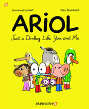 Image: Ariol Vol. 01: Just a Donkey Like You & Me SC  - Papercutz