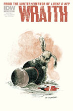 Image: Wraith #4 (subscription cover) - IDW Publishing