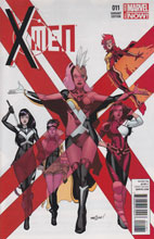 Image: X-Men #11 (Marquez variant cover) - Marvel Comics