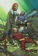 Image: All New Invaders #2 (variant cover - Larroca) - Marvel Comics