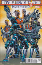 Image: Revolutionary War: Supersoldiers #1 (Gibbons variant cover) - Marvel Comics