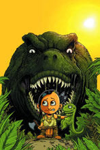 Image: Turok: Dinosaur Hunter #1 (125-copy incentive cover - Haeser Cute) - Dynamite