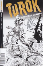 Image: Turok: Dinosaur Hunter #1 (200-copy incentive cover - Pak Silver signed) - Dynamite