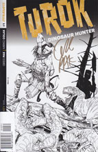 Image: Turok: Dinosaur Hunter #1 (250-copy incentive cover - Pak Gold signed) - Dynamite