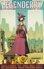Image: Legenderry: A Steampunk Adventure #2 (100-copy incentive cover - Travelogue) - Dynamite