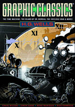 Image: Graphic Classics Vol. 03: H.G. Wells SC  (3rd edition) - Eureka Productions