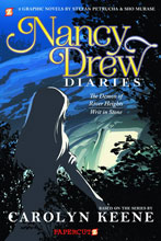 Image: Nancy Drew Dairies Vol. 01: Demon of River Heights / Writ in Stone SC  - Papercutz