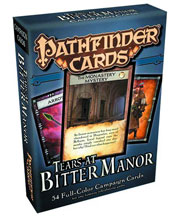 Image: Pathfinder Campaign Cards: Tears at Bitter Manor  -