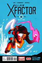 Image: All-New X-Factor #2 (variant 2nd printing cover - Kris Anka)  [2014] - Marvel Comics