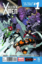 Image: All-New X-Men 22.NOW (2nd pringing variant cover - Stuart Immonen) - Marvel Comics