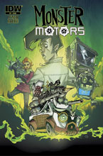 Image: Monster Motors: The Curse of Minivan Helsing #1 - IDW Publishing