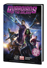 Image: Guardians of the Galaxy Vol. 01 HC  (movie cover) - Marvel Comics