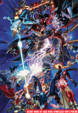 Image: Secret Wars by Alex Ross Oversized Vinyl Poster  - Marvel Comics