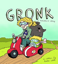 Image: Gronk: A Monster's Story Vol. 01 SC  - Action Lab Entertainment
