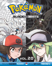 Image: Pokemon Black & White Vol. 20 SC  - Perfect Square