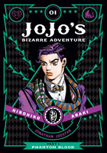 Image: Jojo's Bizarre Adventure: Part 1 - Phantom Blood Vol. 01 HC  - Viz Media LLC