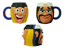 Image: Jay & Silent Bob Mug: Super Groovy Cartoon Movie  (ceramic) -