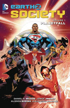 Image: Earth 2: Society Vol. 01: Planetfall SC  - DC Comics