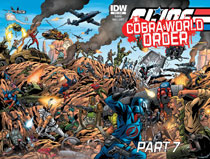 Image: G.I. Joe: A Real American Hero: Cobra World Order Part 07 #225 - IDW Publishing
