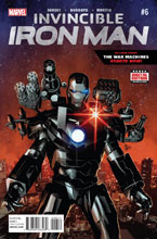Image: Invincible Iron Man #6 - Marvel Comics